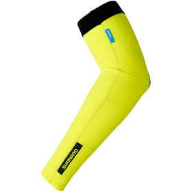 Shimano Arm Warmer neon yellow
